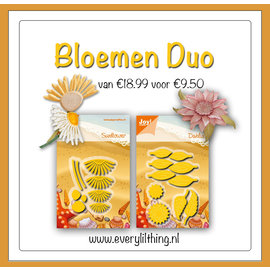 Joy!Crafts Bloemen Duo