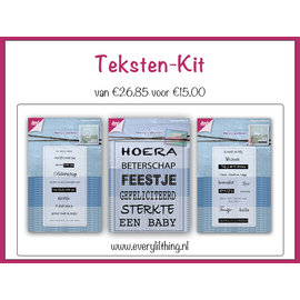 Joy!Crafts Teksten Kit