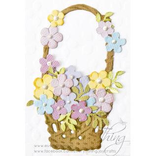 Joy!Crafts Snij-debos-embosstansmal - bloemen mand