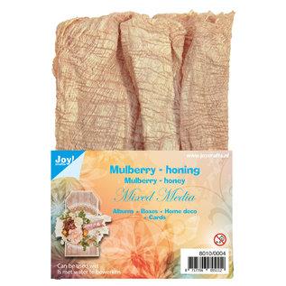 Joy!Crafts Mulberry boombastvezels voor Mixed Media-honing