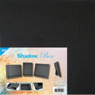 Joy!Crafts Shadow Box 3 maten - zwart