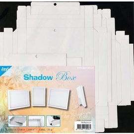 Joy!Crafts Shadow Box 3 maten  -  wit