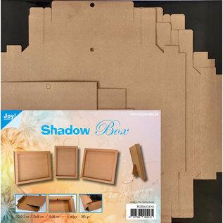 Joy!Crafts Shadow Box 3 maten  - kraft