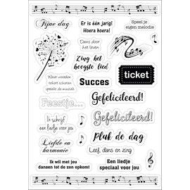 Joy!Crafts Joy! Design Stickers - Muziek