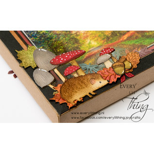 Joy!Crafts Stans-debos-embosmal - Herfst egel