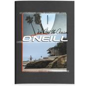 O'Neill A4 lijntjes schrift boys - antraciet