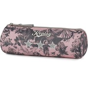 Replay Girls etui - rond roze camo
