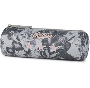 Replay Girls etui - rond  camo grijs