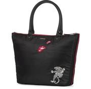 Supertrash Shopper zwart/rood