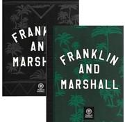 Franklin & Marshall A5 schriften green/black