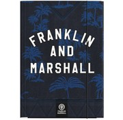 Franklin & Marshall Boy's elastomap A4 - blue