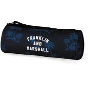 Franklin & Marshall Boy's rond etui - blauw