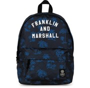 Franklin & Marshall Rugzak blue - compact