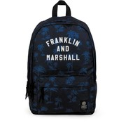 Franklin & Marshall Rugzak blue