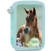 My Favourite friends Gevuld etui paard groen