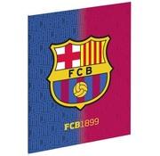 Barcelona 3x Schrift A5 blaugrana