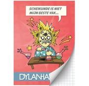 Dylan Haegens A4 ruitjes schrift - team scheikunde