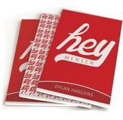 Dylan Haegens A5 schriften - hey red