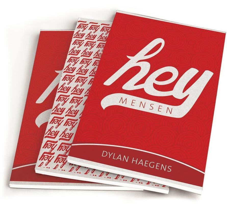 A5 lijntjes schriften - hey red