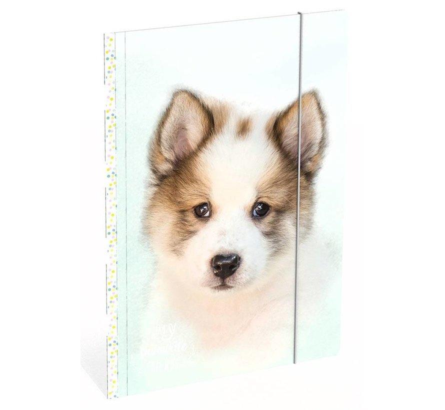 Honden elastomap A4