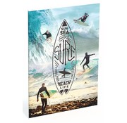 Surf A4 lijntjes schrift