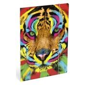Wild Elastomap A4  - tijger