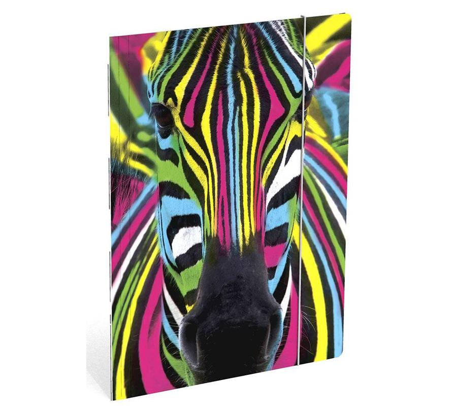 Zebra elastomap