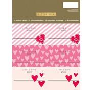 Little Diva Etiketten roze