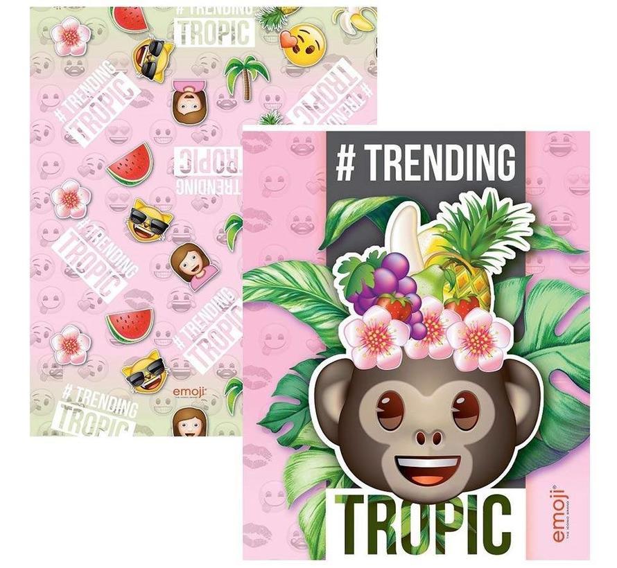 A5 lijntjes schriften - tropic