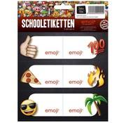Emoji Etiketten - pizza
