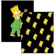 The Simpsons A5 schriften lijn