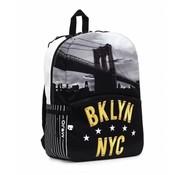 Mojo Brooklyn rugzak zwart