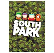 South Park A4 ruitjes schrift