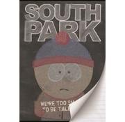 South Park A4 lijntjes schrift zwart
