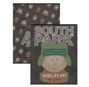 South Park A5 schriften lijn zwart