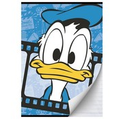 Donald Duck A4 lijntjes schrift blauw