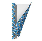 Donald Duck Kaftpapier  blauw