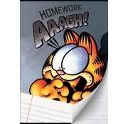 Garfield Boy's A4 lijntjes schrift grijs