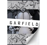 Garfield Boy's A4 ruitjes schrift - grijs