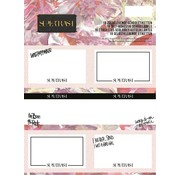 Supertrash Etiketten roze