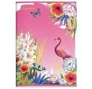Accessorize Sweet A4 lijntjes schrift  roze
