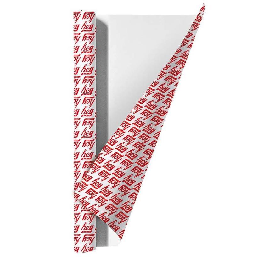 Kaftpapier - hey rood