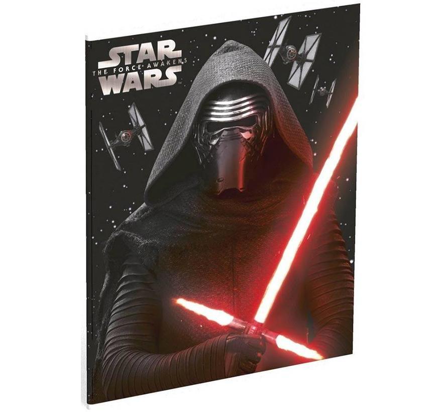 A5 lijntjes schriften Darth Vader