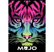 Mojo Girls A4 ruitjes schrift roze