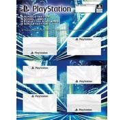 Play Station Etiketten - blauw