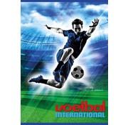 Voetbal international A4 lijntjes schrift