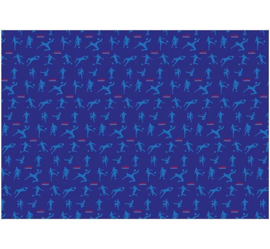 Kaftpapier blauw