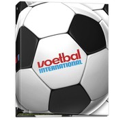 Voetbal international Ringband 23r wit