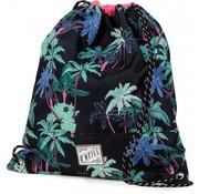O'Neill Girls zwemtas / gymgtas zwart palm