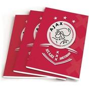 Ajax Amsterdam A5 schriften lijn - AFC